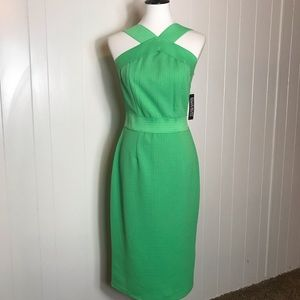 NWT - New York & Company Bodycon Midi Dress Green